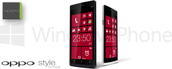 Oppo Find 5 mit WindowsPhone