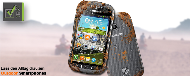 Für harte Kerle: 3 Outdoor-Smartphones im Überblick