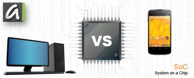 Unterschied zwischen Smartphone und PC SoC Prozessor