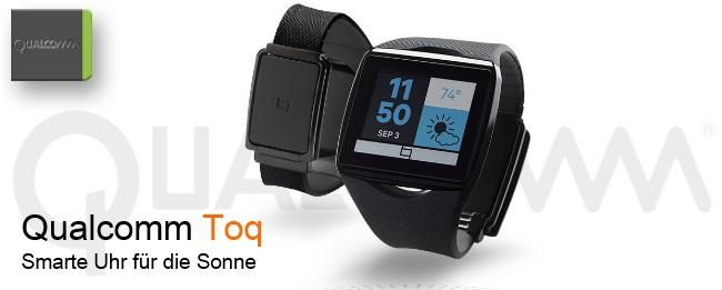 Qualcomm Toq Smartwatch ausverkauft