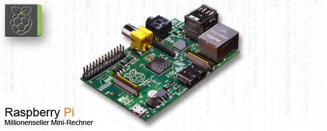 Raspberry Pi bereits mehr als 2,5 Millionen mal verkauft