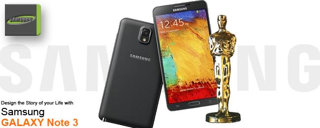 Samsung Galaxy Note 3 Oscar-Selfie