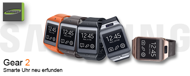 Samsung Gear 2 mit Telefonfunktion in Planung