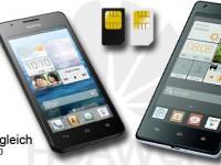 [Kurztest] Huawei Ascend G525 vs G700: DualSIM im Vergleich