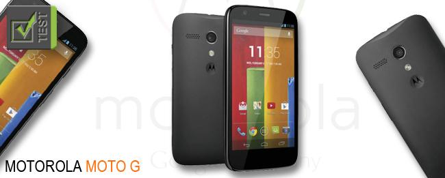 Motorola Moto G Test