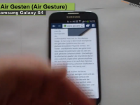 [Video] Samsung Galaxy S4 Air Gesten – Tipps & Tricks [45]