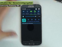 [Video] Samsung Galaxy S4 Notification Bar – Tipps & Tricks [51]