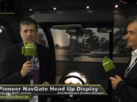 Pioneer NavGate Head Up Display (HUD) - IFA 2013