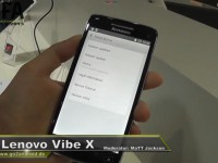 [Video] Lenovo Vibe X – IFA 2013