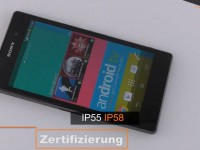 Sony Xperia Z1 - First touch & view