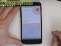 "[Video] Nexus 5 - Google now ""Hotword"" aktivieren - Tipps & Tricks 60"