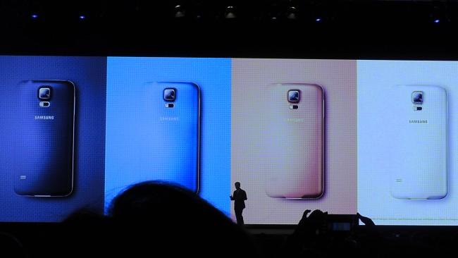 Sasmung Galaxy S5 Unpacked Event