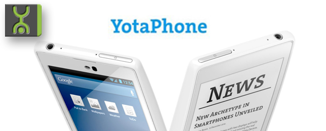 Yota Devices YotaPhone 2 zum MWC 2014